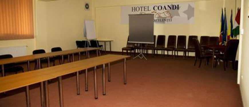 Sala conferinte Arad hotel Coandi.