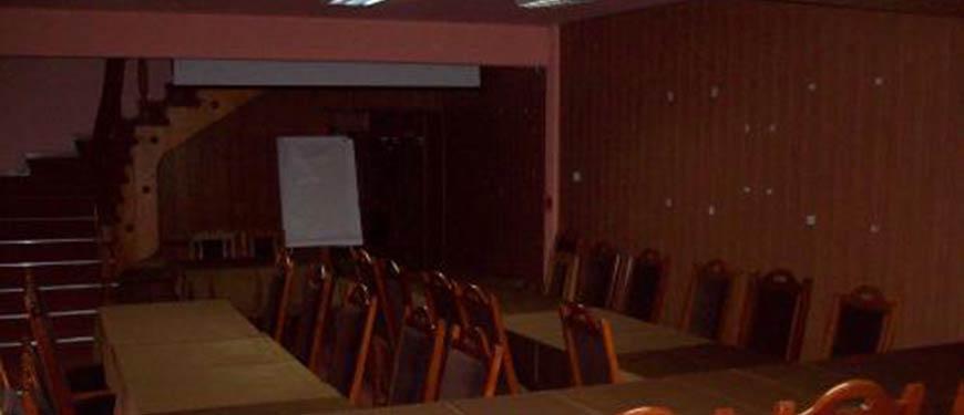 Sala conferinte Slanic-Moldova, hotel Dobru
