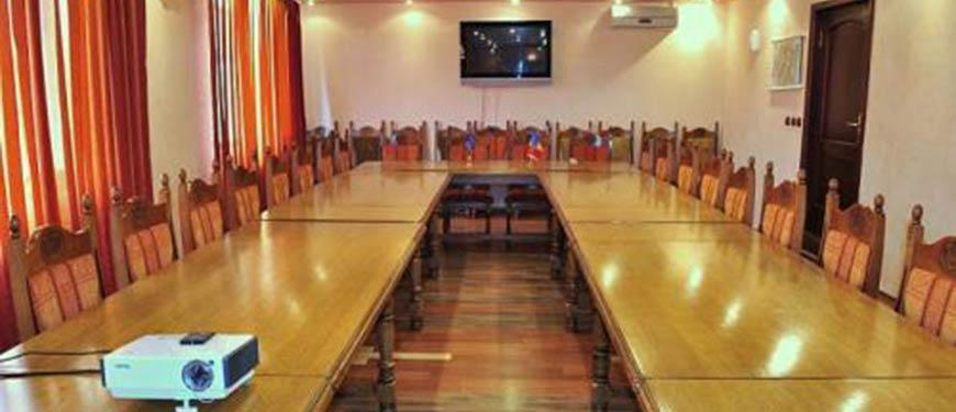 Sala conferinte Targu Ocna, pensiunea Casa Creanga